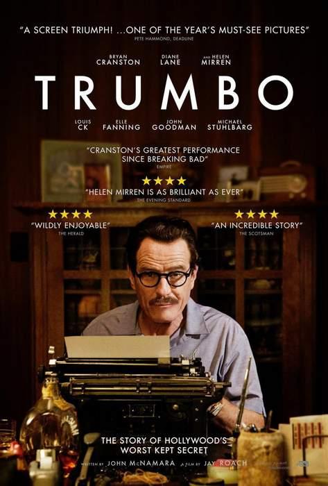 Póster de Trumbo: La lista negra de Hollywood