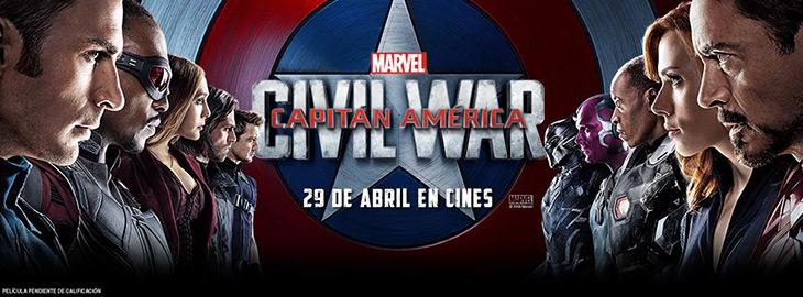 Yelmo Cines y Cineralia te invitan al Primer Pase de Capitán América: Civil War