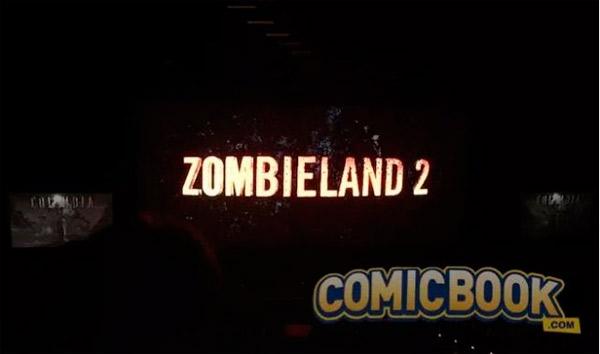 Logo de la secuela de Zombieland
