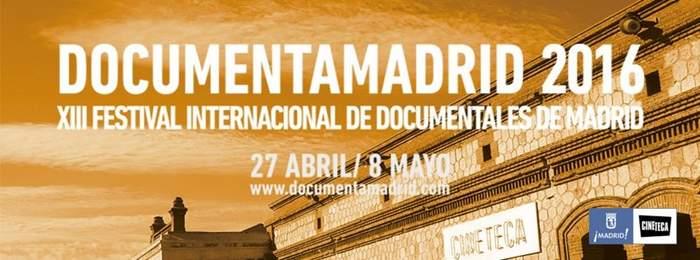 Cartel DocumentaMadrid 2016