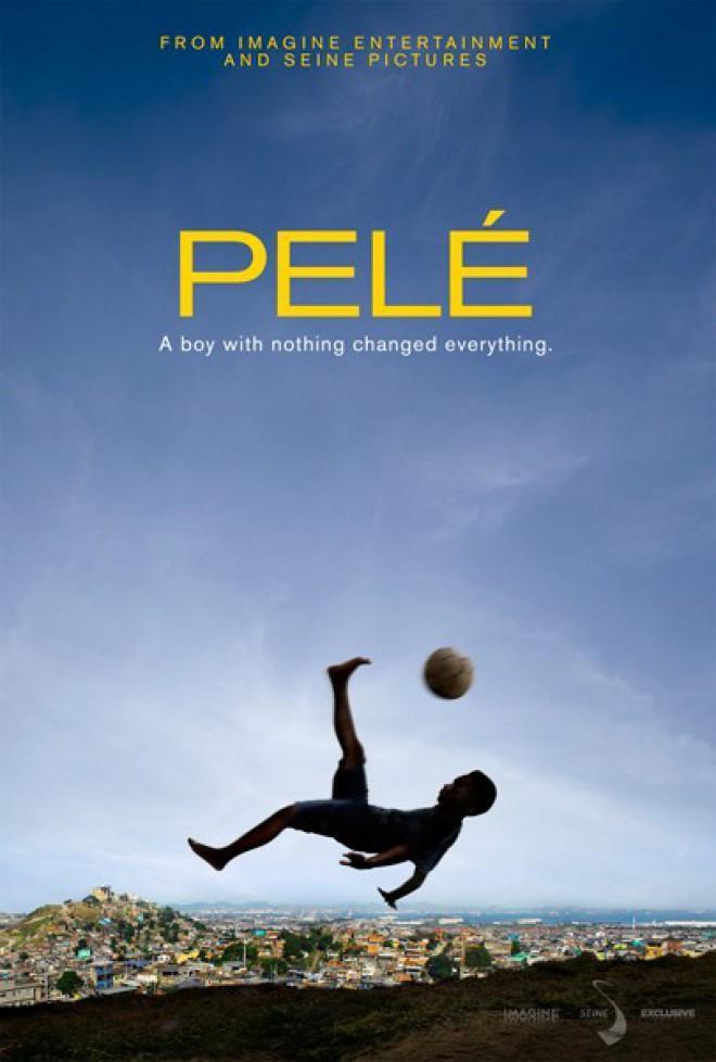 Póster de Pelé, el nacimiento de una leyenda