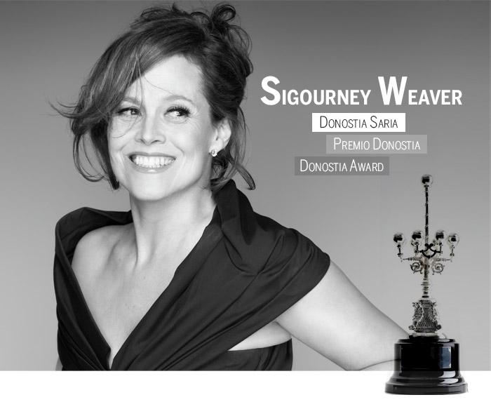 Sigourney Weaver Premio Donostia 2016