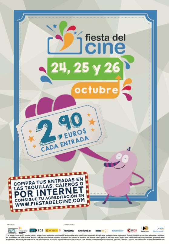 Fiesta del cine octubre 2016