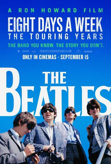 Póster de The Beatles: Eight Days a Week - The Touring Years