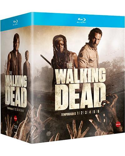 """Pack con las 6 Primeras Temporadas de """"The Walking Dead"""""""