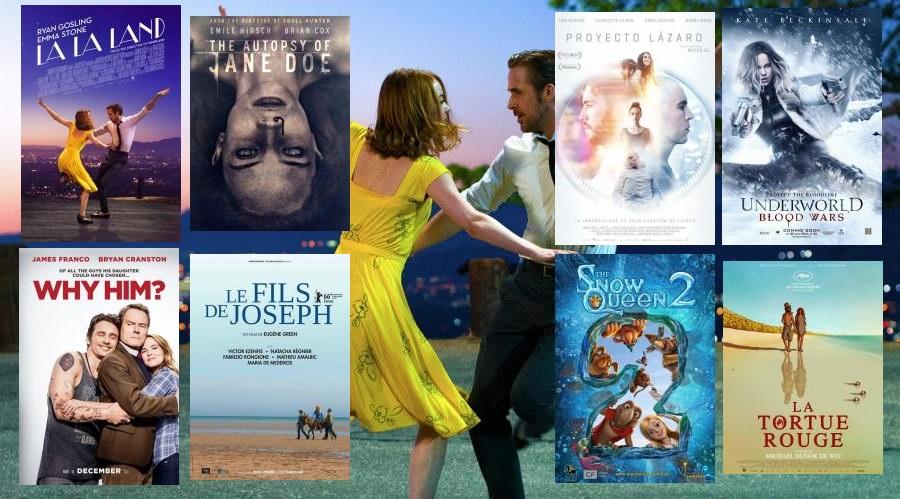 Estrenos de cine 13 de enero de 2017