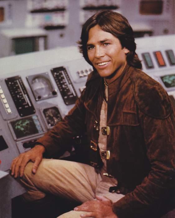 """Richard Hatch, serie """"Battlestar Galactica"""""""