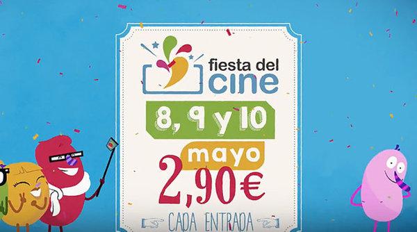 Fiesta del Cine 2017 mayo