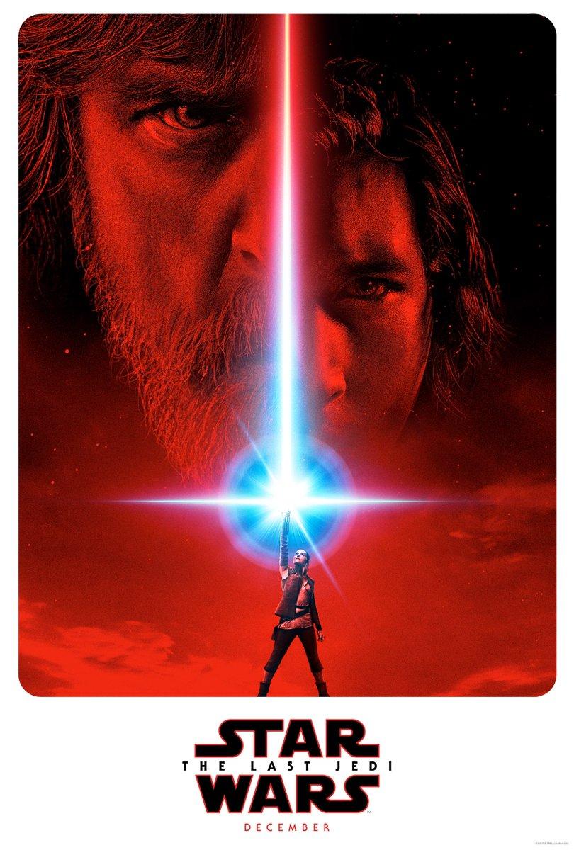 Póster de Star Wars episodio VIII: Los últimos jedi