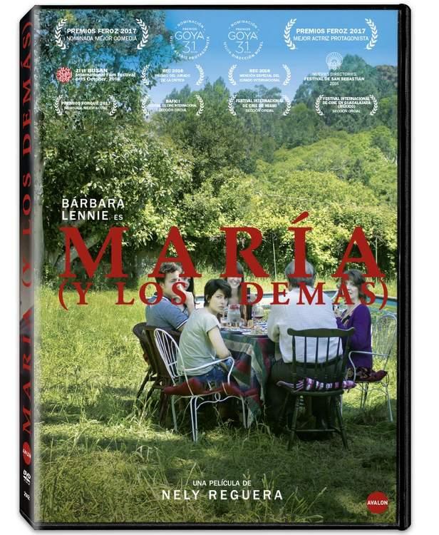 DVD de María y los demás