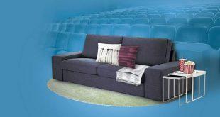 A partir de hoy y durante el mes de mayo, 16 cines españoles de Cinesa y Yelmo Cines cambiarán por primera vez la estructura de sus salas para integrar sofás, mantas y cojines y conseguir que te sientas como en el salón de tu casa.