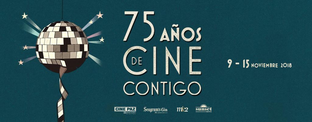 """""""75 años de cine contigo"""" Ciclo homenaje al 75 ANIVERSARIO CINE PAZ"""